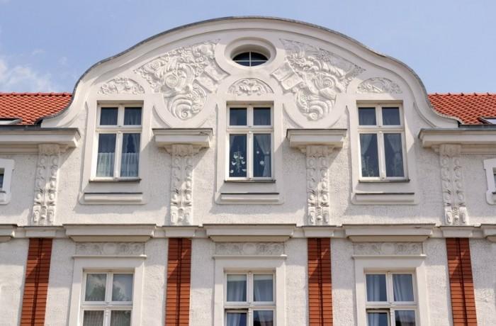Fassadenarbeiten und Gestaltung